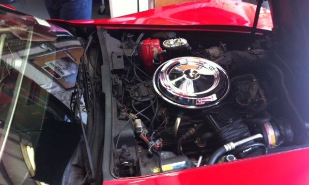 Auto Repair and Maintenance - Corvette Engine Replacement