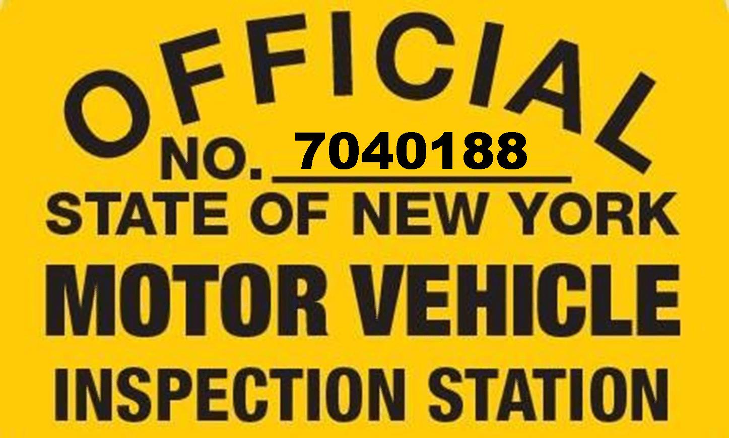 NYS Motor Vehicle Inspections - Glendale NY